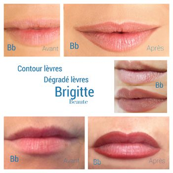 Maquillage lèvres longue durée