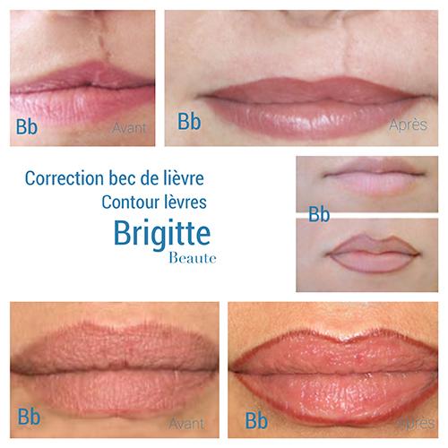 portofolio lèvres contour