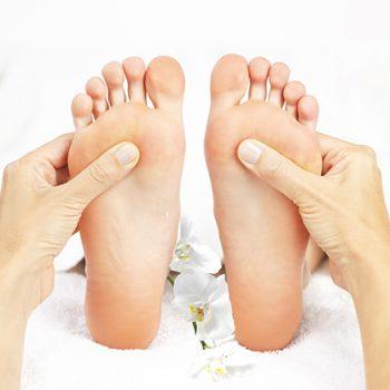 Massage des zones réflexes